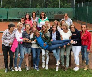 1. und 2. Mannschaft Damen 40
