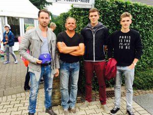 Mit den 1. Herren beim ATP Turnier in Halle