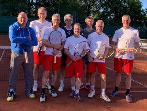 Tennistraining Herren